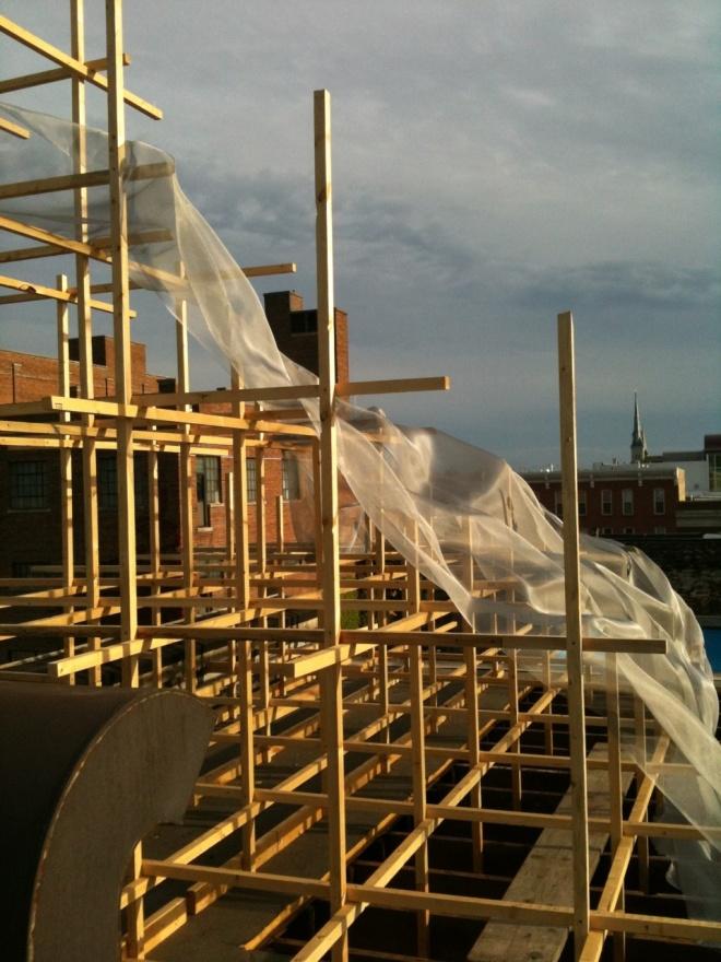 Spire Roof mesh