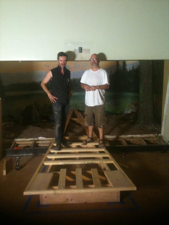 Moose Diorama with Bob Rogers