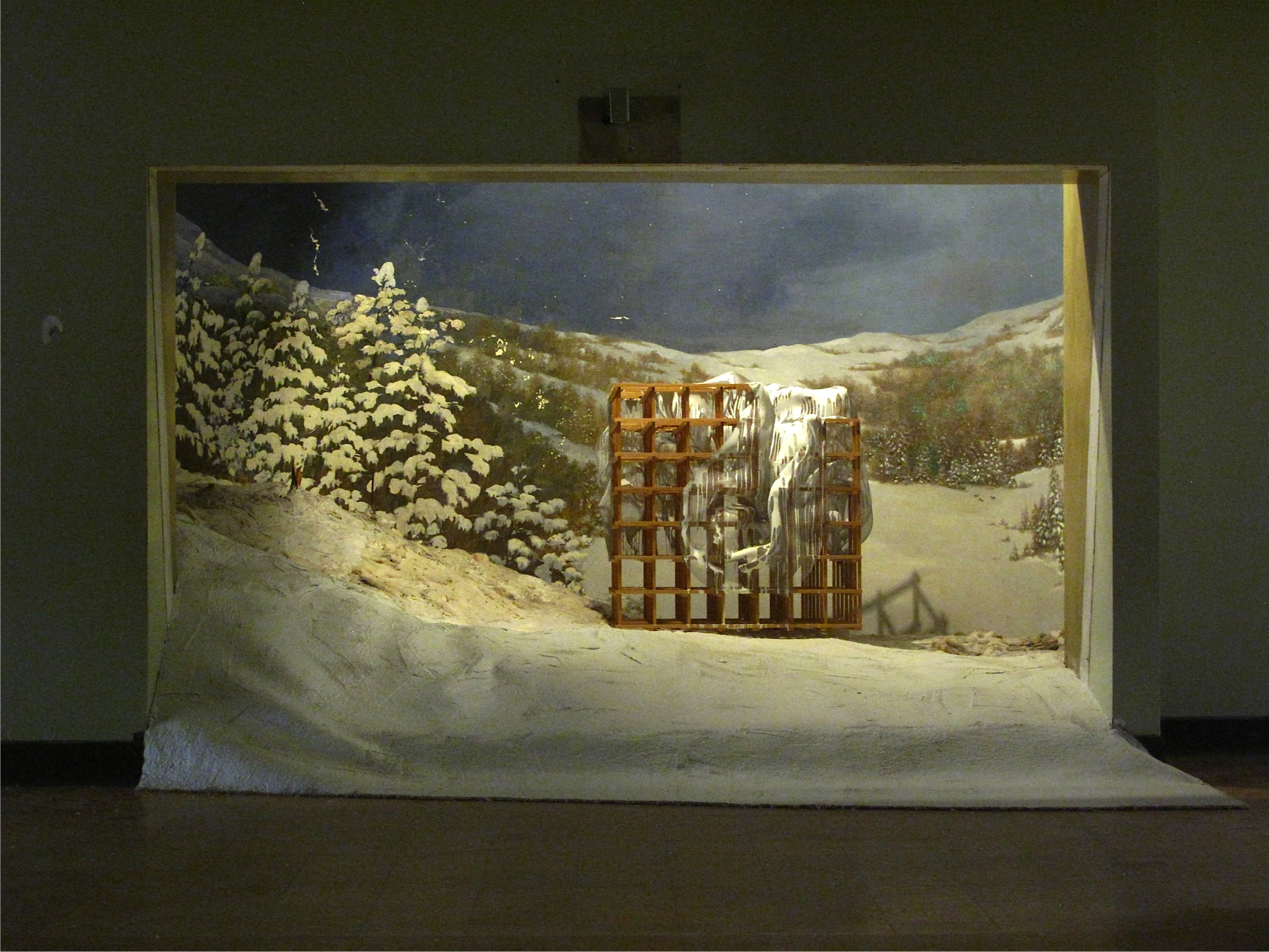 Diorama Process By Alois Kronschlaeger