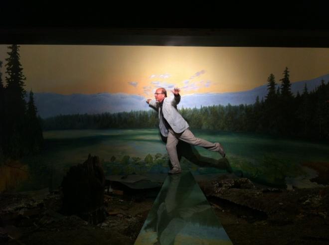 Jerry Saltz Alois Kronschlaeger Habitat Moose Diorama
