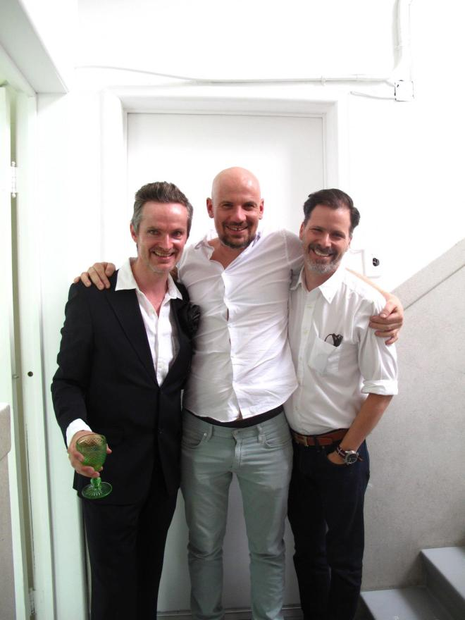 Alois Kronschlaeger, Mathias Kessler, Aldo Chaparro