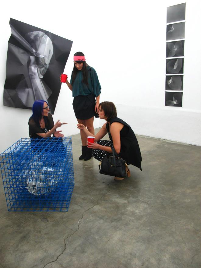 Raiza Larios at The drawing. The painting. The sculpture.