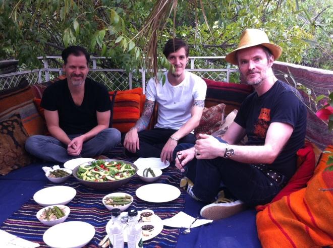 Lunch with Aldo Chaparro Yonatan Molina Alois Kronschlaeger