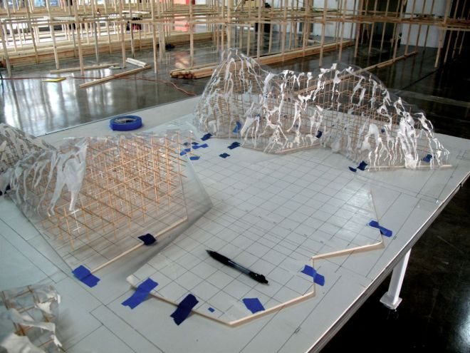 Scale Model of Untitled Basin and Range #3