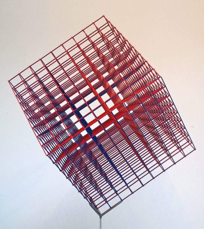 Alois Kronschlaeger Multicolored Cube