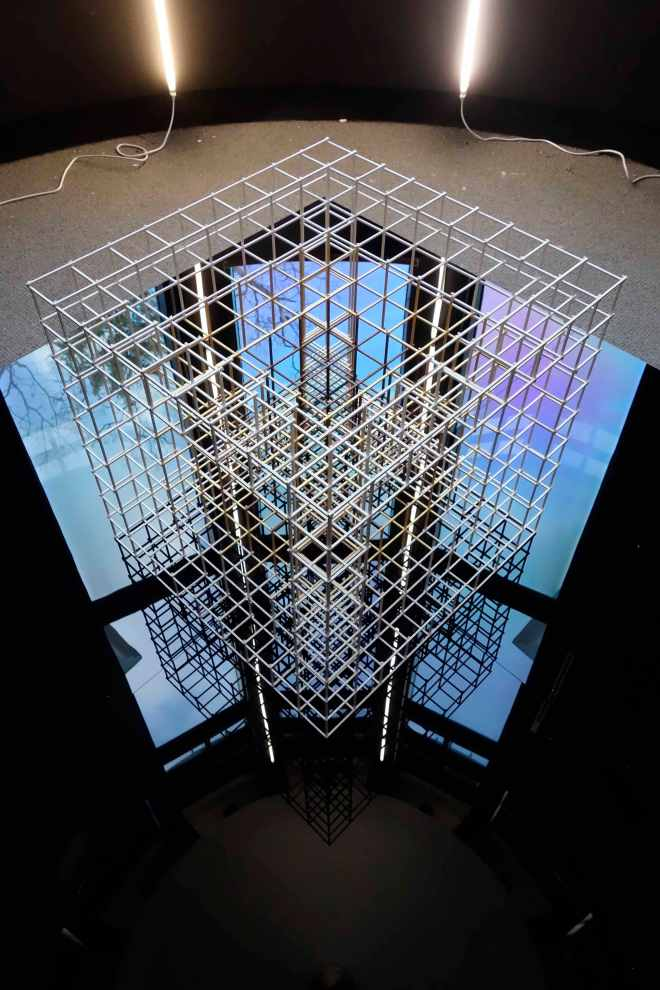 Alois Kronschlaeger Bruce Museum Cube