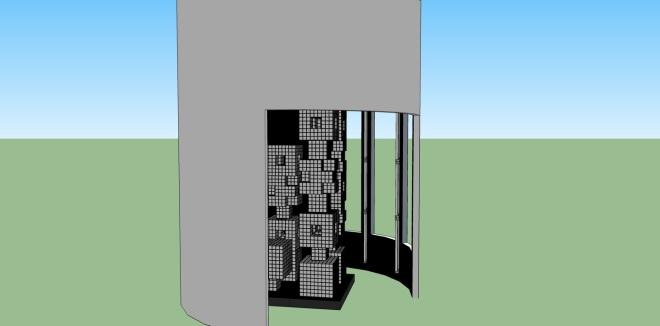 Bruce Museum 3D Rendering Alois Kronschlaeger