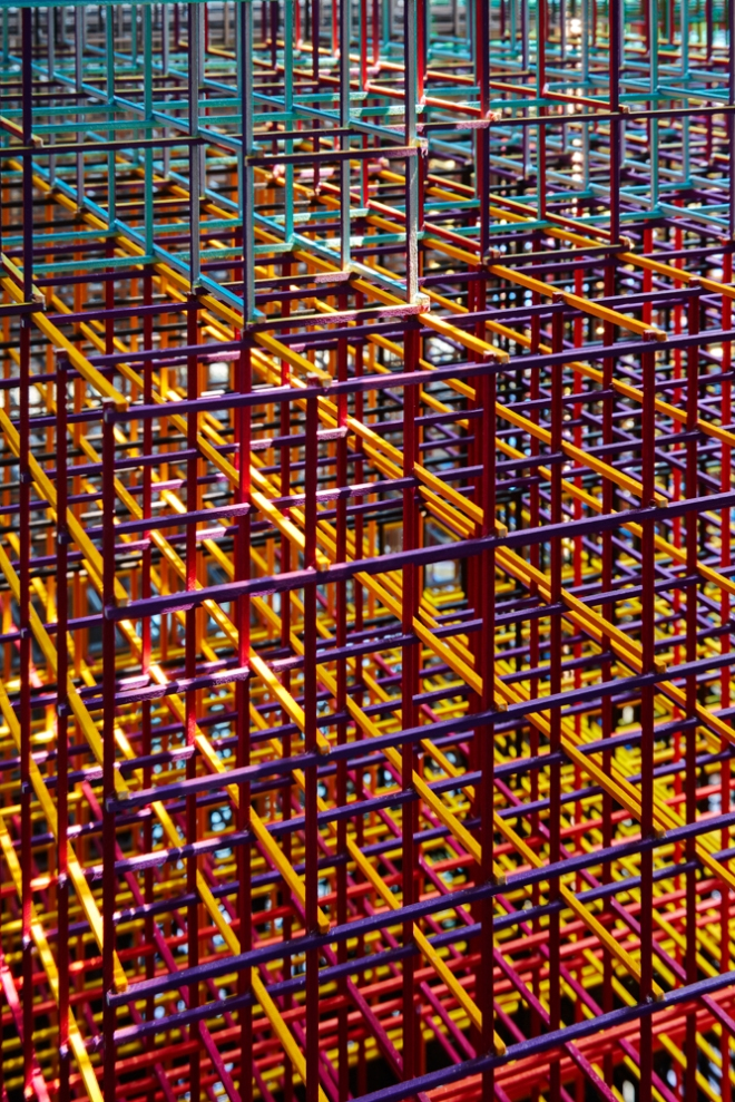 Alois Kronschlaeger Grid Strucutre #1 Marc Lins