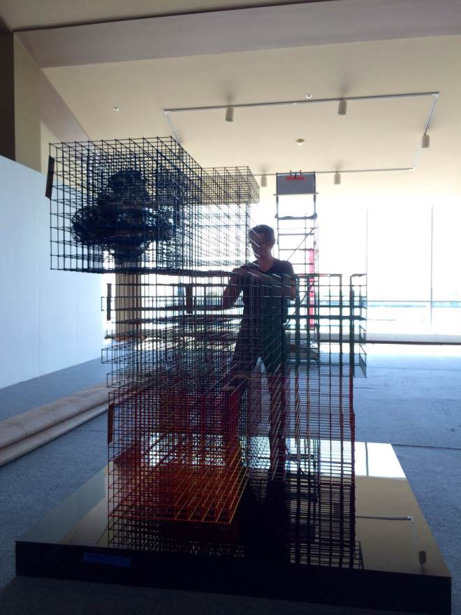 Alois Kronschlaeger Grid Structure EXPO Chicago