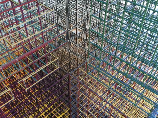 Alois Kronschlaeger Grid Structure #1 Configuration 2